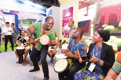 第三届国际茶博会:非洲元素闪亮茶博会 携手并进共享美好未来