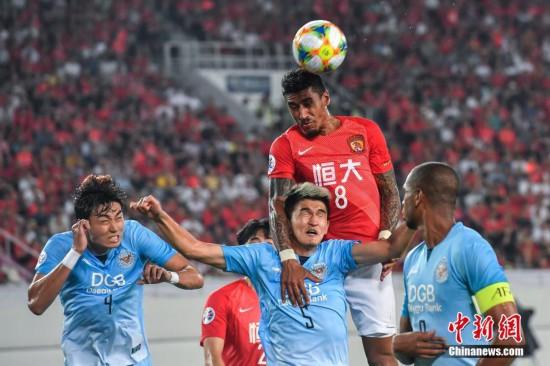 2019亚冠联赛 广州恒大主场1比0战胜大邱FC