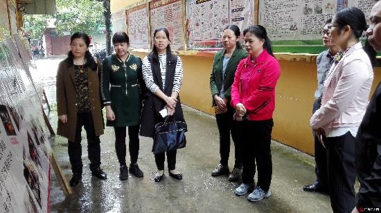自治区妇联副主席孔献玲带队到横县调研