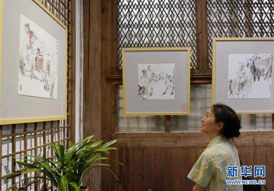 (文化)(2)创新瓷画亮相榕城