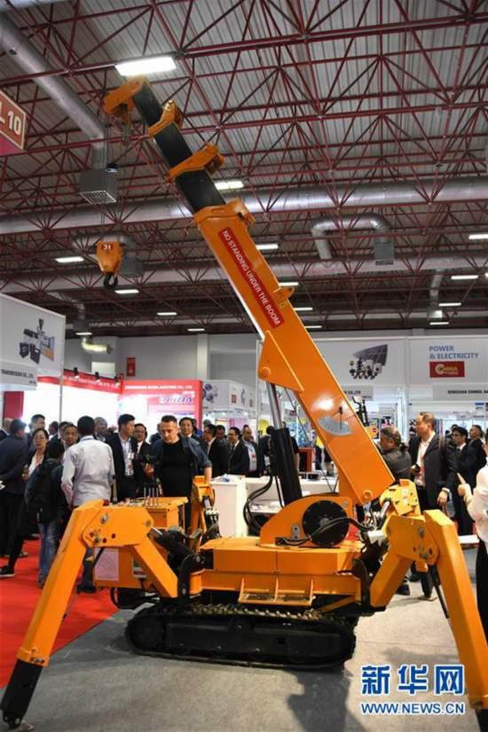 (国际)(4)第六届中国(土耳其)贸易博览会开幕