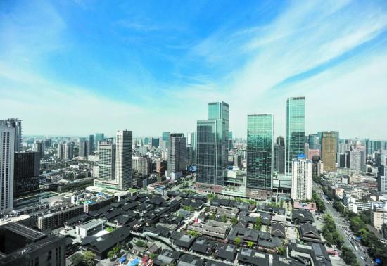 """成都新增绿蓝紫""""三线""""管理 保护城市景观风貌"""