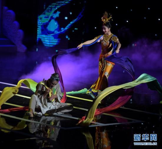 (文化)(5)甘肅紀念經典舞劇《絲路花雨》創演40周年