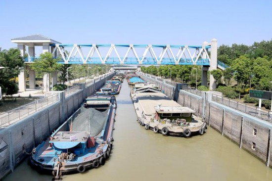 5月以來洪澤湖水位有10天低於正常通航水位
