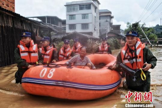 特大暴雨重創福建致逾17萬人受災2人死亡