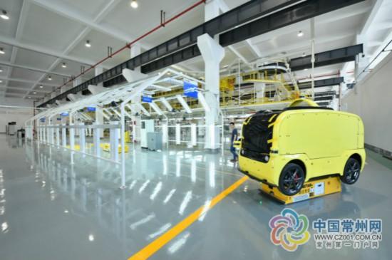 全球首座L4级无人车量产基地在常州武进投产