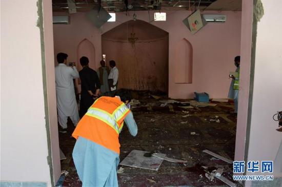 (国际)(1)巴基斯坦西南部一清真寺遭袭 2死25伤