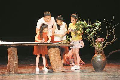 国内首部原创美育剧《树・人》上演六一惠民专场
