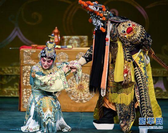 (文化)(4)张火丁首演京剧《霸王别姬》亮相北京