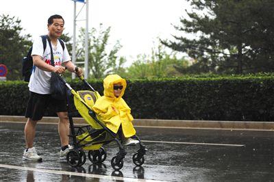 今日北京大风蓝色预警阵风将达七
