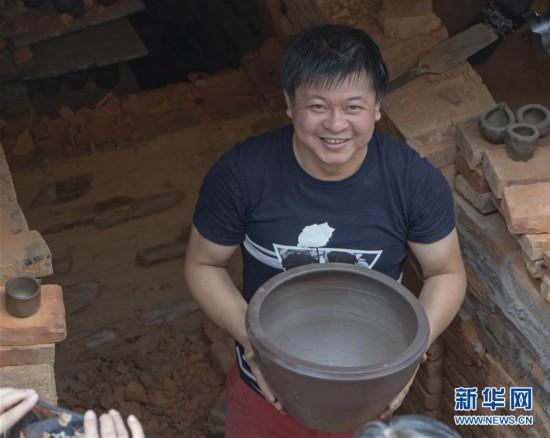 (文化)(5)广西钦州:龙窑坭兴陶放光彩