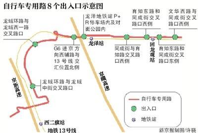北京首条自行车专用路将开通 禁止骑电动自行车