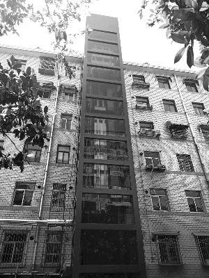 徐州市首部老旧小区增设电梯加装完成