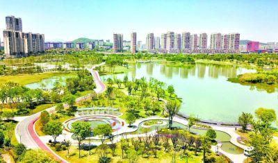 仙林湖公园全面建成 南京仙林大学城添绿肺