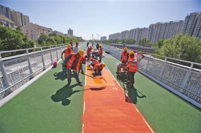北京首条自行车专用路将开通禁止骑电动自行车