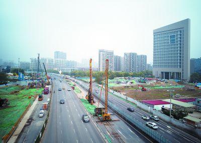 南京扬子江大道快速化改造进入隧道施工阶段