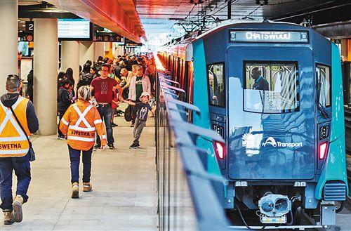 澳首条无人驾驶地铁线在悉尼正式开通