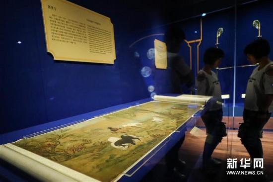 """(文化)(2)""""传心之美――梵蒂冈博物馆藏中国文物展""""亮相故宫"""