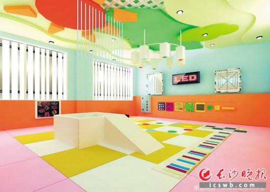 长沙市儿童福利院康复中心项目效果图
