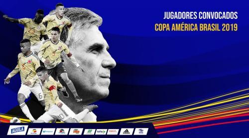 哥伦比亚在美洲杯上将与阿根廷队同组。图片来源:哥伦比亚足协官网
