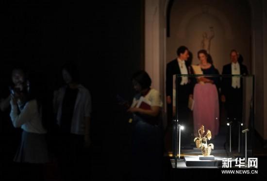 (XHDW)(2)弗吉尼亚美术馆藏二十世纪珍宝艺术展在国博开幕