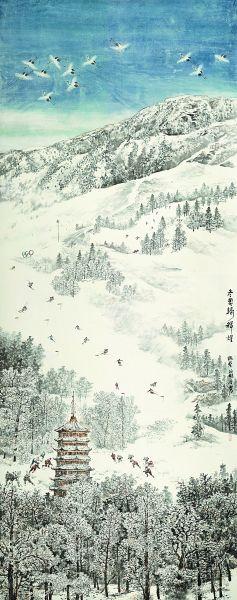 70年畫里新北京