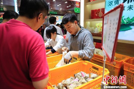 端午来临上海销售的粽子抽检全部合格