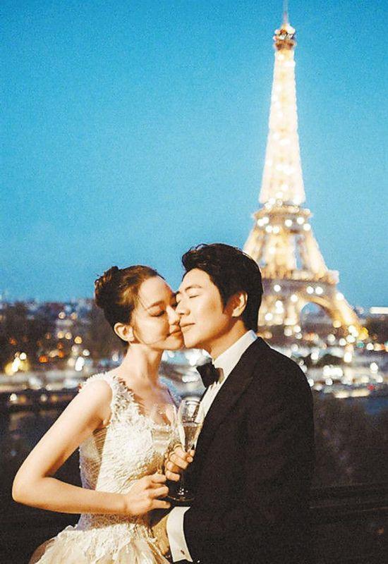 郎朗在法国凡尔赛宫举办婚礼晚宴