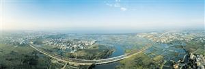 江东新区:半城都市半城绿鸟瞰江东新区,建设蹄急步稳,面貌日新月异。重点探索城乡统筹发展新模式,规划蓝绿空间占比70%以上――【详细】