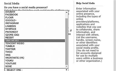 赴美签证新规申请人需提供社交媒体账号