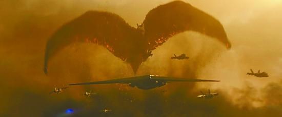 《哥斯拉2》里空中航母并非幻想 美苏都曾研制