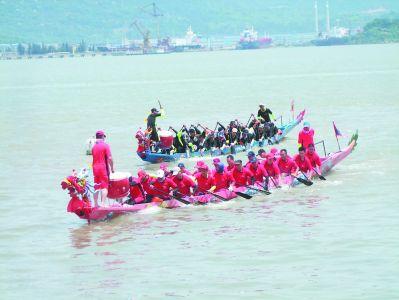 """福安""""扒龙船"""":山海间传承的乡愁"""