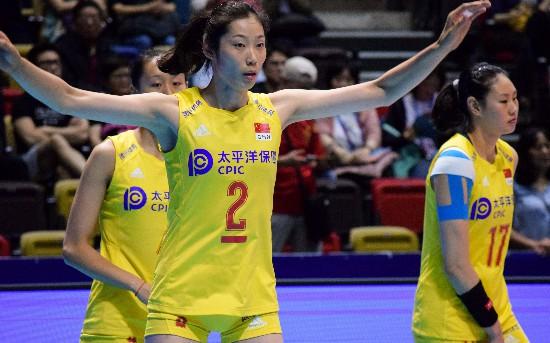 朱婷18分助中国女排零封日本队 硬仗还在后头