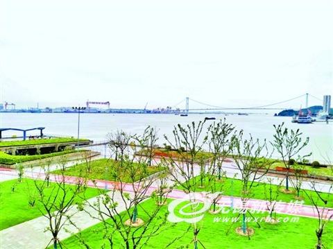 无锡江阴外滩四大公园年底有望连通