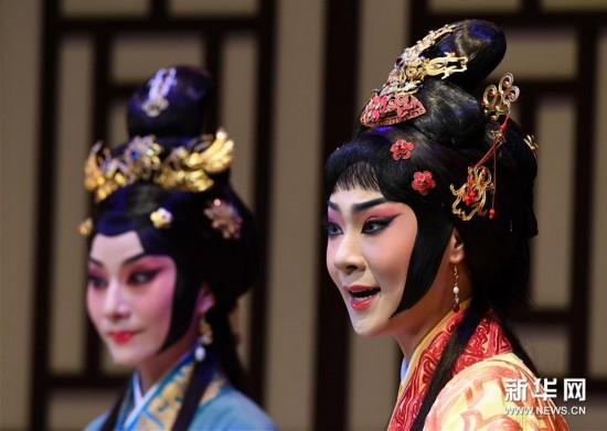 (图文互动)(1)新编京剧《项羽和两个女人》亮相台北