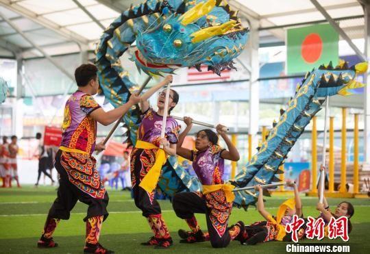 中国传统体育国际锦标赛长沙开幕200余名选手同场竞技