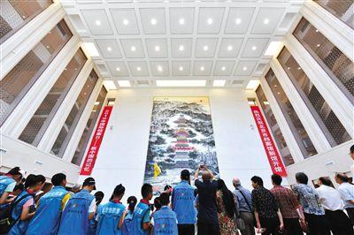 北京档案馆新馆启用 老地图集体亮相