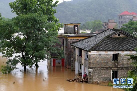 (图文互动)(6)国家减灾委、应急管理部针对江西暴雨洪涝灾害启动国家Ⅳ级救灾应急响应