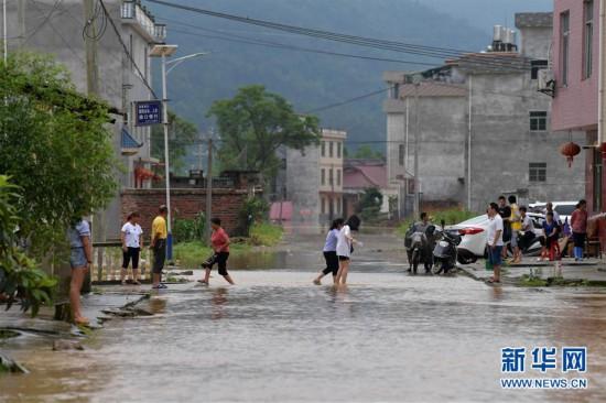 (图文互动)(5)国家减灾委、应急管理部针对江西暴雨洪涝灾害启动国家Ⅳ级救灾应急响应