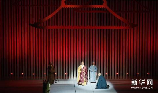 (XHDW)(1)中国原创歌剧《鉴真东渡》在洛杉矶上演