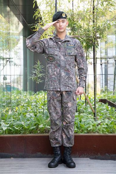 激动!金秀贤将于7月1日退伍已有影视出演计划