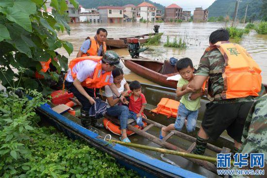 (社会)(1)江西洪涝受灾人数超过200万