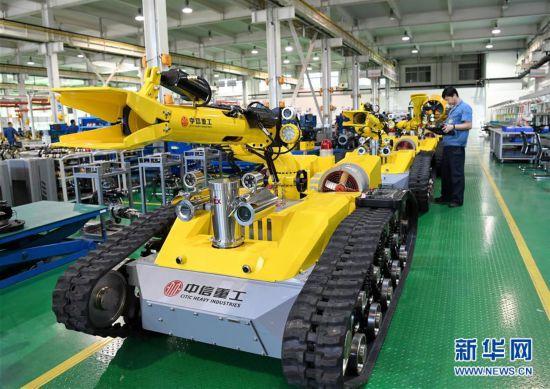 (经济)(1)河北唐山:机器人制造助力经济转型升级