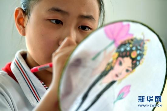 #(教育)(1)石家庄:校园戏曲节体验戏曲魅力