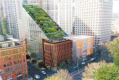 """悉尼旅店将现""""绿色瀑布""""屋顶"""