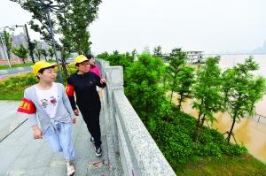 今年贛江1號洪峰通過南昌段
