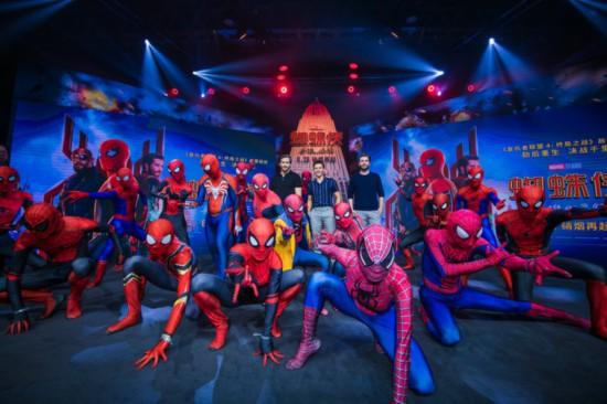 《蜘蛛侠:英雄远征》主创挥舞战旗秀中国风