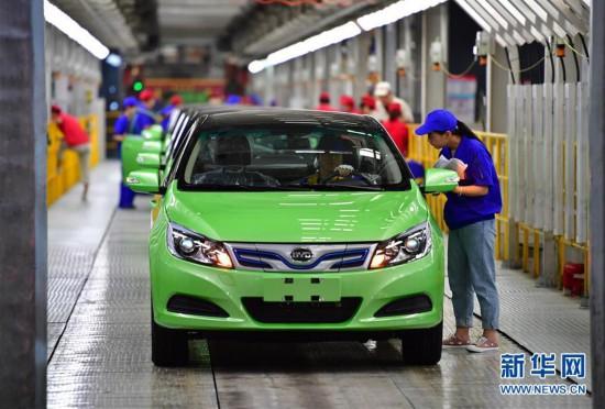 (经济)(3)中国新能源汽车产销稳步增长