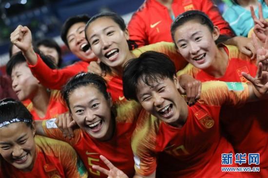 (女足世界杯)(3)足球——B組:中國隊戰勝南非隊