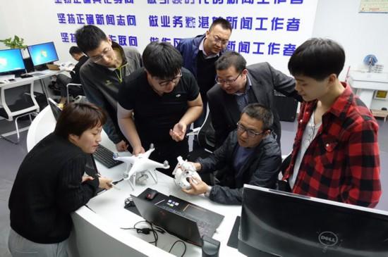 无人机应用技术教学实训基地落户宁夏大学